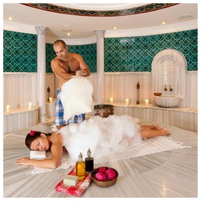 Пенный массаж в хаммаме