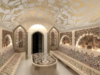 Хаммам из мозаики