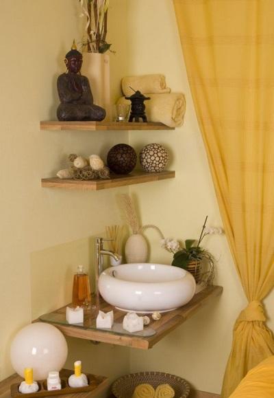 Аксессуары соответствующие стилю ванной