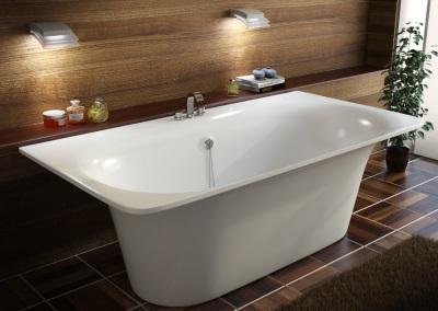 прямоугольная ванна мраморная
