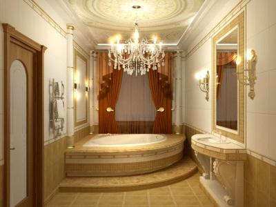 Ванна в маленькой ванной