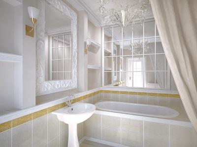 Дизайн небольшой ванной комнаты