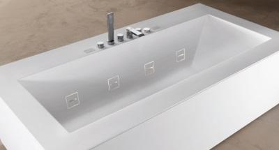 Невидимые форсунки ванны Teuco Guzzini