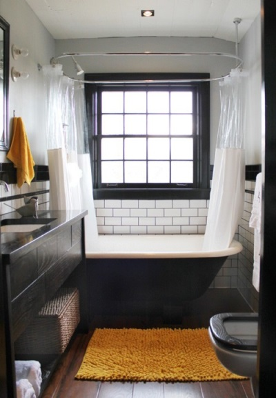 Очень уютные ванные комнаты