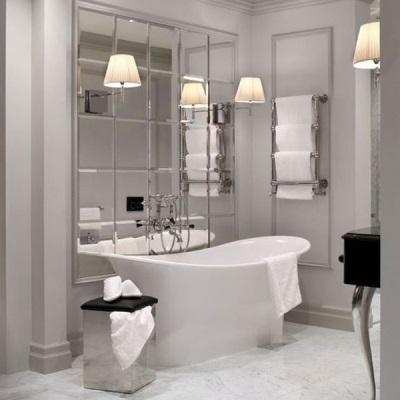 Маленькая, но очень комфортная ванная комната