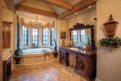 Уют и комфорт большой ванной