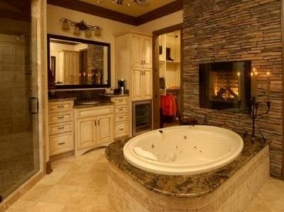 Ванная комната с теплыми полами