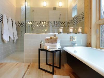 Аксессуары создающие уют ванной комнаты