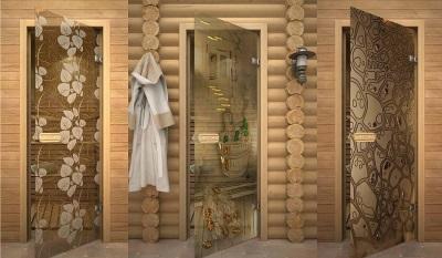 Стеклянные двери для бань, саун и санузлов