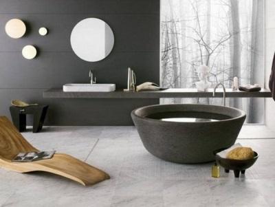 Красивая современная ванная