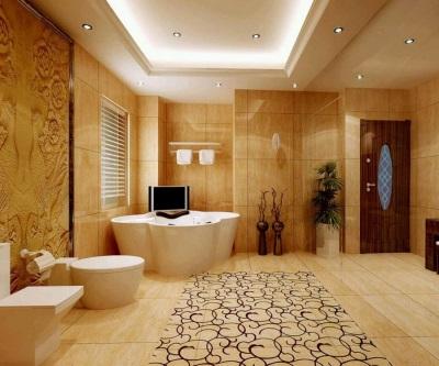 Красивые отделочные материалы для ванной