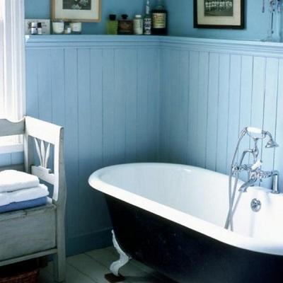 Панели для облицовки стен ванной комнаты