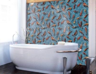 Пленка самоклеющаяся для ванный