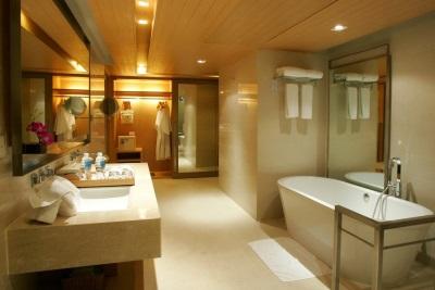 Смешение стилей в ванной комнате