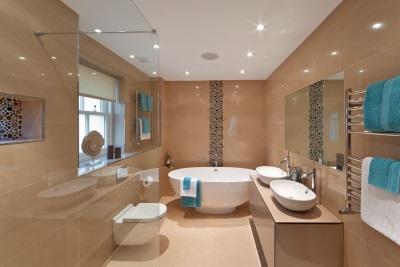 Керамическая плитка для большой ванной