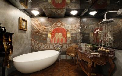 Освещение большой ванной