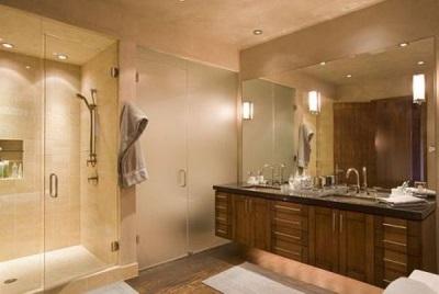 Безопасное освещение ванной комнаты