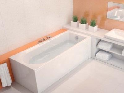 Акриловая ванна от компании Cersanit