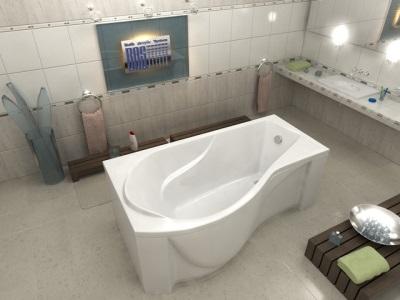 Акриловая ванна от российской компании BAS