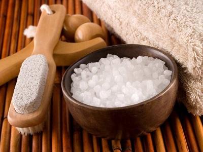 Морская соль для ванн без добавок