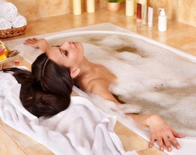 Полная релаксация в ванной