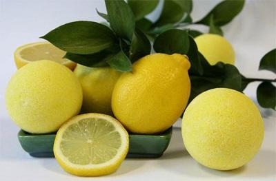 Ванны с лимоном