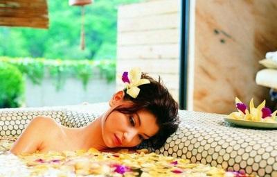 Ванна для расслабления и души