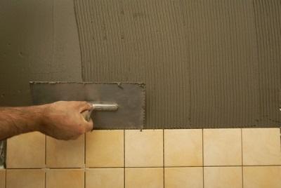 Качественный клей для плитки в ванной комнате