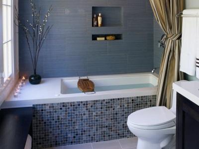 Идеальное сочетание с серыми оттенками ванной