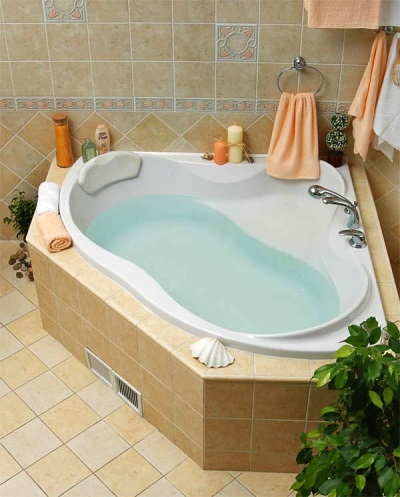 Ванна угловая акриловая