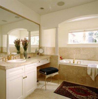 Столик с одной раковиной для ванной комнаты