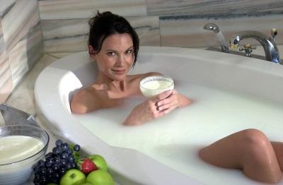 Ванна Клеопатры с молочной чывороткой
