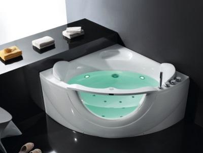 Ванна испанская угловая с гидромассажем
