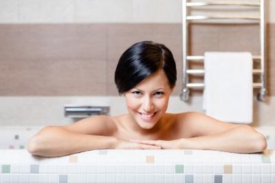 Ванна с эфирными маслами от усталости