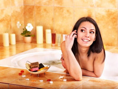 Возбуждающая ванна с эфирными маслами