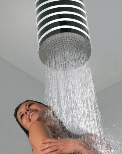Большой верхний душ