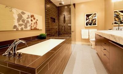 Чугунная ванна встроенная в пол