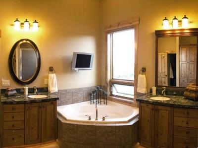 Электроприборы и освещение в ванной комнате