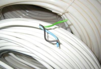 Бухты кабеля для монтажа электропроводки