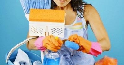 Генеральная уборка в ванной комнате