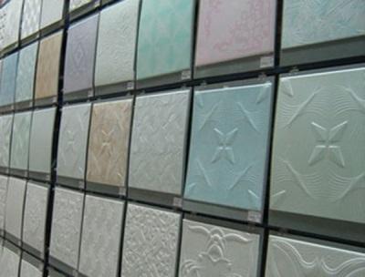 Ассортимент потолочной плитки