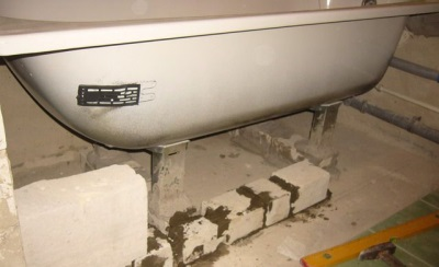 Лепесток для заземления ванн