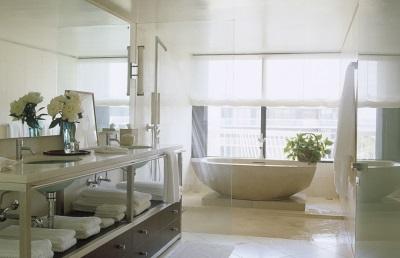 Расположение ванной по направлению сторон света