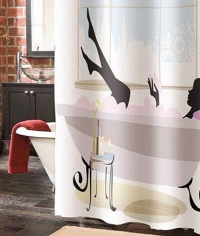 Занавеска для ванной