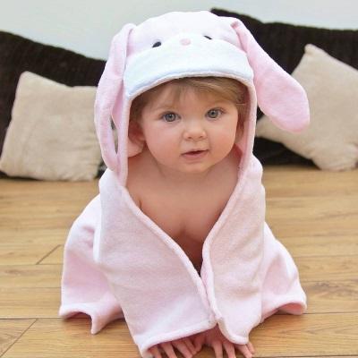 Полотенце-зайка для ребенка