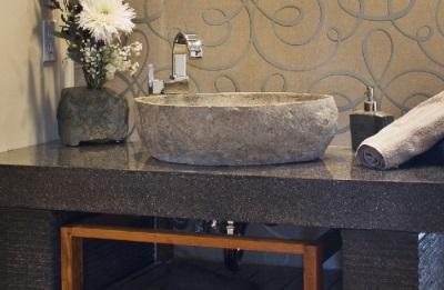 Каменные раковины для ванной комнаты