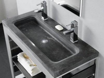 Раковины для ванной из натурального камня базальта