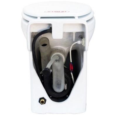 Унитаз со встроенным насосом-измельчителем - устройство