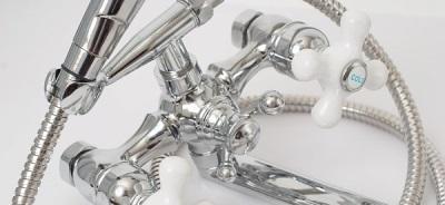 Кнопка переключения режимов на смесителе - кран и душ