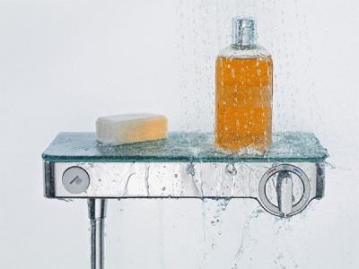 Встроенный смеситель для ванны и душа с термостатом